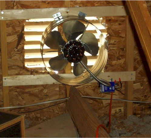 Attic Fan Installation, Attic Fan Installation, Idaho